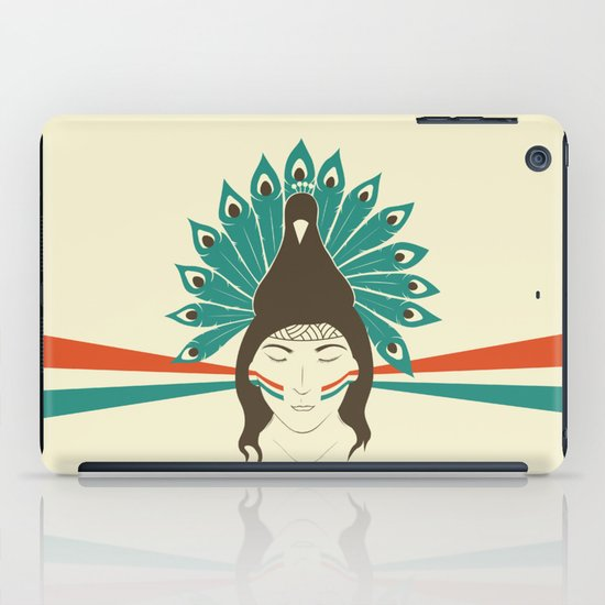 The princess and the peacock iPad Case