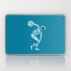 Bowling astronauts Laptop & iPad Skin
