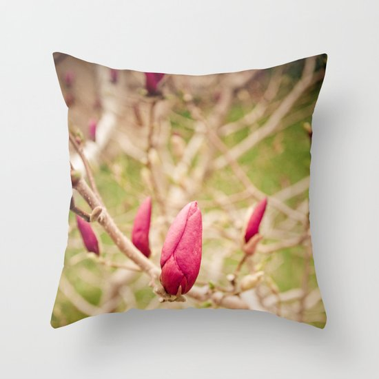 Pop of Color Throw Pillow