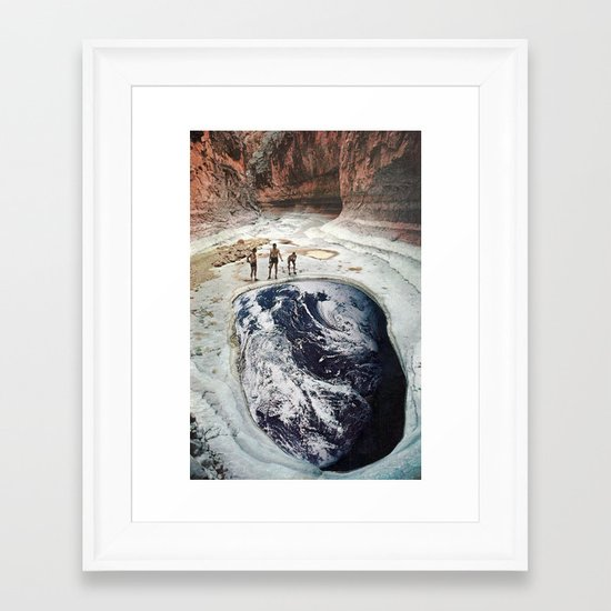 danika Framed Art Print