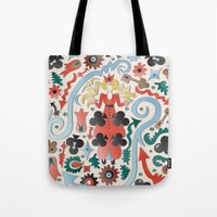 Queen Of Clubs Tote Bag
