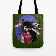 Tears Dry On Their Own Tote Bag