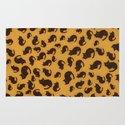 Too many kitties Leopard print Rug