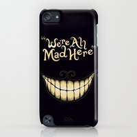 iPhone Cases featuring We're All Mad Here by greckler