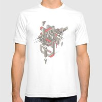 ASW Mens Fitted Tee White SMALL