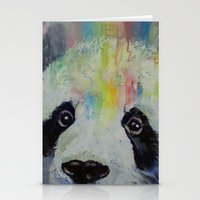 Panda Rainbow Stationery Cards