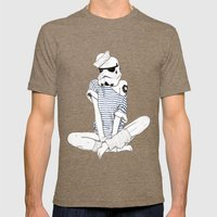 Sailortrooper Mens Fitted Tee Tri-Coffee SMALL
