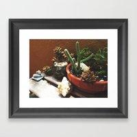 Garden Life Framed Art Print
