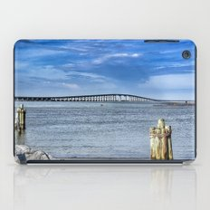 Bridge to sand and sea iPad Case