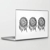 dream catcher Laptop & iPad Skins featuring Dream Catcher by Kristin J Reyes