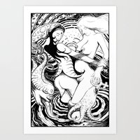Lesbians Art Print