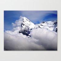 Eiger 2 Canvas Print