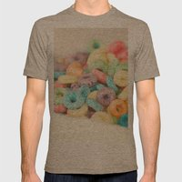 Fruit Loops Mens Fitted Tee Tri-Coffee SMALL