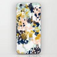 Sloane - Abstract Painti… iPhone & iPod Skin