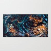 Milking The Stars - Monster Magnet full album cover panorama Canvas Print