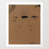 Sexism Vs Racism Art Print