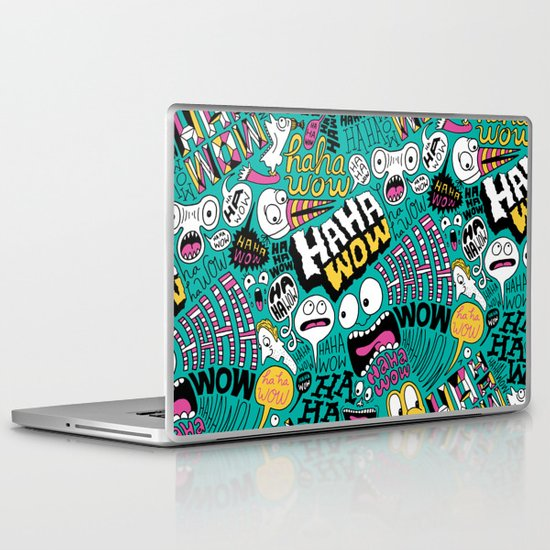 Haha wow. Laptop & iPad Skin