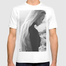 Black queen Mens Fitted Tee White SMALL