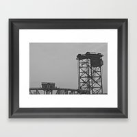 Bridgehouse Framed Art Print
