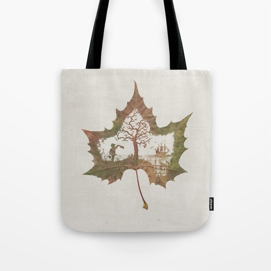 A Fall Story Tote Bag