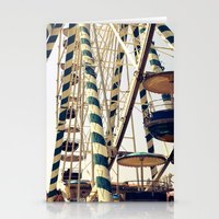 Vintage Ferris Wheel In … Stationery Cards