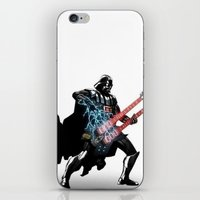 Darth Vader Force Guitar Solo iPhone & iPod Skin