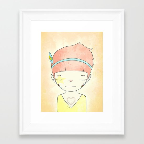WHEN I LOST EVERYTHING Framed Art Print