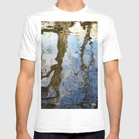 Reflections Below The Me… Mens Fitted Tee White SMALL