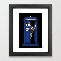 Dr. Dalek Framed Art Print