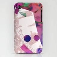 iPhone & iPod Case featuring Abstract Wallpaper Pink by Christine Baessler