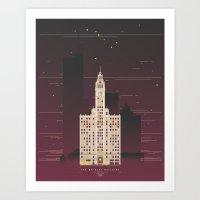 The Wrigley Building  Art Print