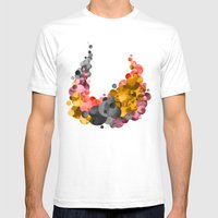 Cradle & Moon Mens Fitted Tee White SMALL