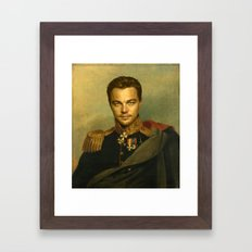 Leonardo Dicaprio - replaceface Framed Art Print