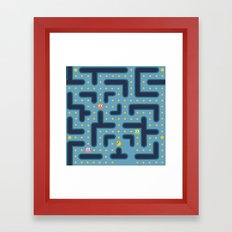 RETRO GAME Framed Art Print