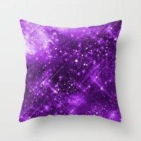 Dazzling Series (Purple) Throw Pillow
