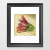 The Stories In My Mind Framed Art Print
