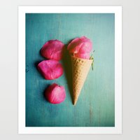 One Scoop Or Two Art Print