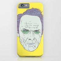 iPhone & iPod Case featuring Clint Eastwood by Maciek Szczerba