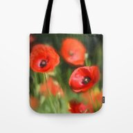 Warmth- Poppies In Love  Tote Bag