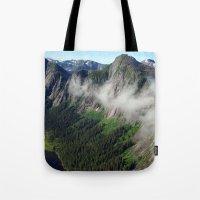 Misty Fjords Tote Bag