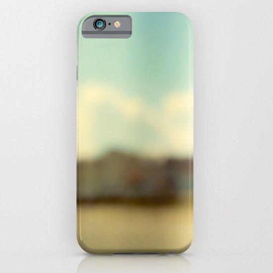 Blurry Beach Houses  iPhone & iPod Case