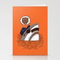 Da Chicago Shark Stationery Cards