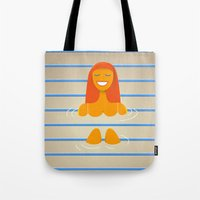 Carpet Swimmer Tote Bag