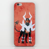 M-Houndoom iPhone & iPod Skin