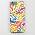 The inner workings of my mind! White! iPhone & iPod Case