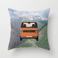 Car Ma Ged Don Throw Pillow