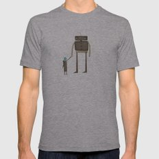 We'll Find A Home Mens Fitted Tee Athletic Grey SMALL