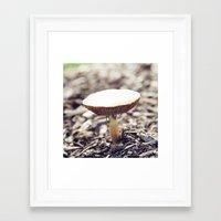 Fairy Table Framed Art Print