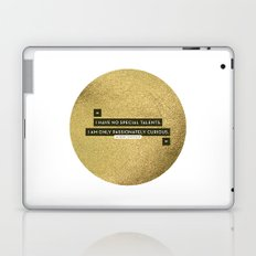 Passionately Curious Laptop & iPad Skin
