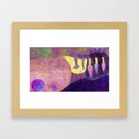 At dawn of time (6) Framed Art Print